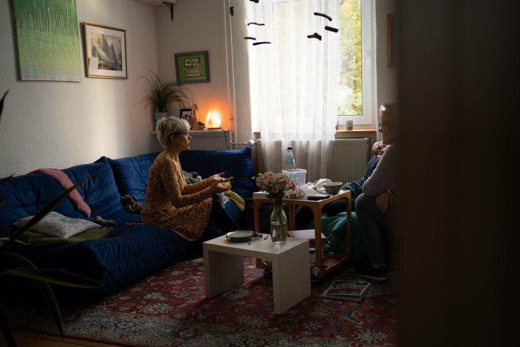 Systemische Familienberatung als Teil der Mütterpflege, kann aber auch extra gebucht werden.